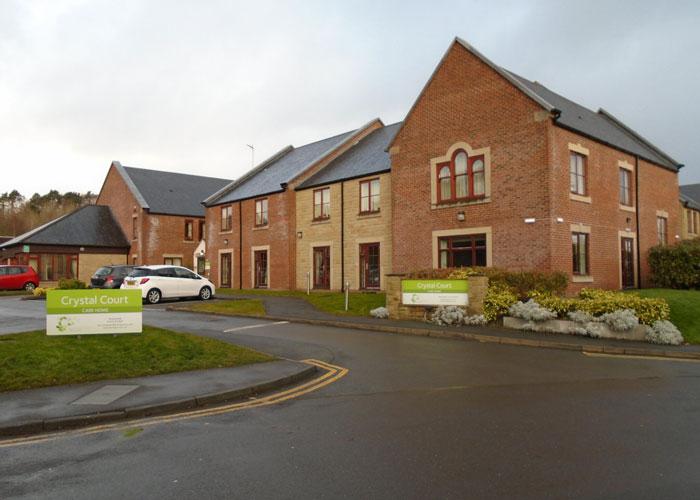 Crystal Court Care Home in Pannal near Harrogate