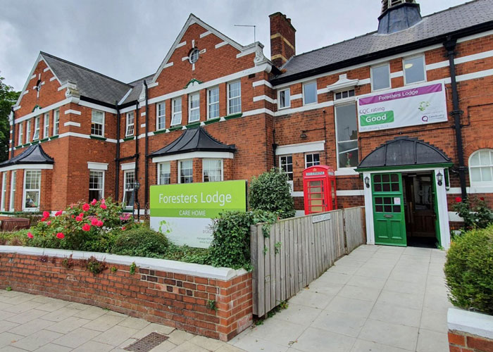 Foresters Lodge Care Home in Bridlington